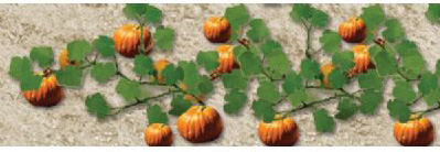 "Wee Scapes Architectural Model Pumpkins 1 0.38"" 2-Pack"