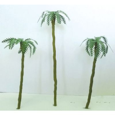 "Wee Scapes Architectural Model Assorted Palm Trees : 1"" to 3"", 4-Pack"