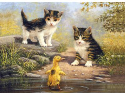 Royal & Langnickel Painting by Numbers Junior Large Sets: Pond Pals