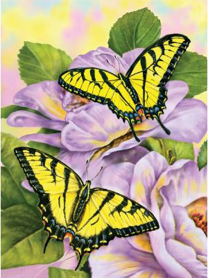 Royal & Langnickel Painting by Numbers Junior Small Sets: Swallowtail Butterflies
