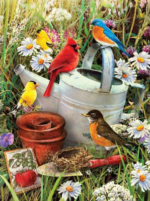 Royal & Langnickel Painting by Numbers Junior Small Sets: Garden Birds