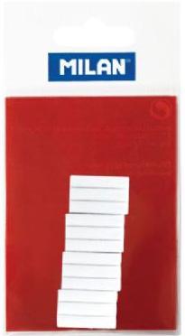 Milan Battery Powered Eraser: White (Graphite)
