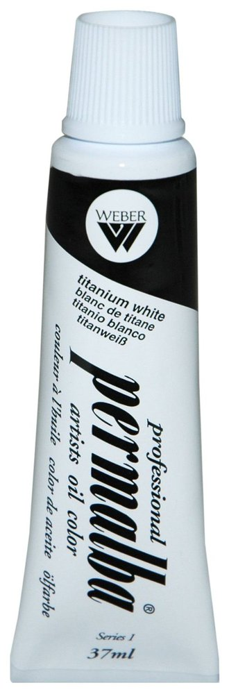 Professional Permalba Titanium White: 37ml Tube
