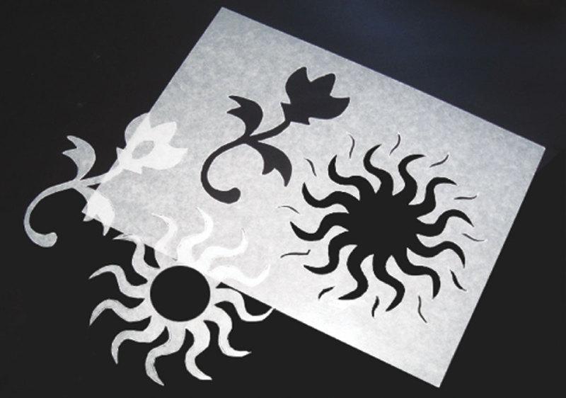 "Inovart Waxed Stencil Paper, 9"" x 12"", 12 Sheets Per Pack"