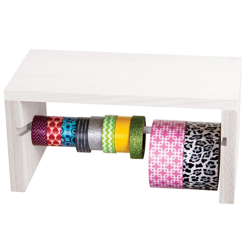 "ArtBin Ribbon Storage Rack: Wood, 5.55"" x 12.13"" x 5.75"""