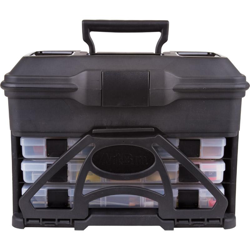 ArtBin Solutions Storage Cabinet: 30 Drawer, Black