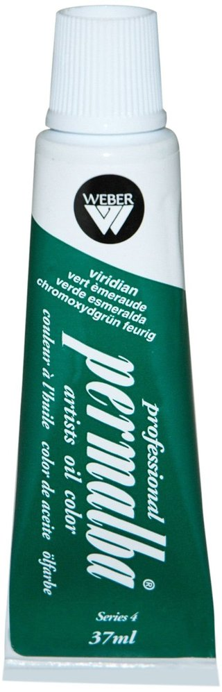 Professional Permalba Viridian: 37ml Tube