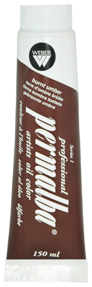 Professional Permalba Burnt Umber: 37ml Tube