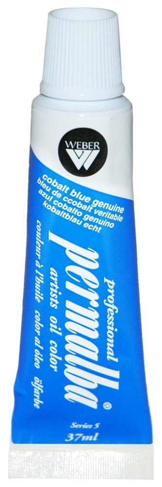 Professional Permalba Cobalt Blue Genuine: 37ml Tube