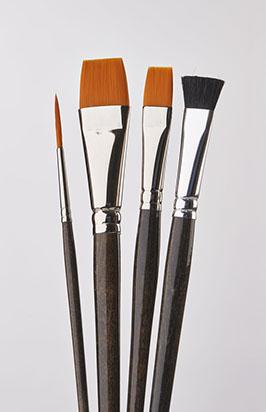 Donna Dewberry 4 Piece Acrylic Brush Set
