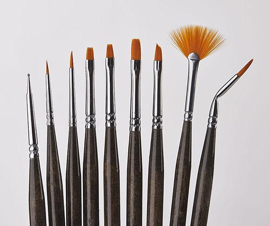 Donna Dewberry 9 Piece Mini Brush Set