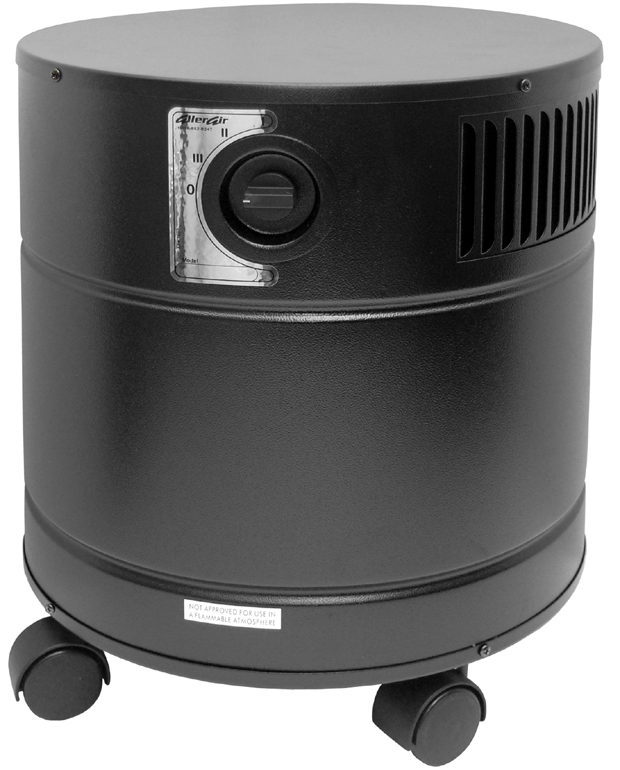 AllerAir 4000 D Exec UV Air Purifier: Black