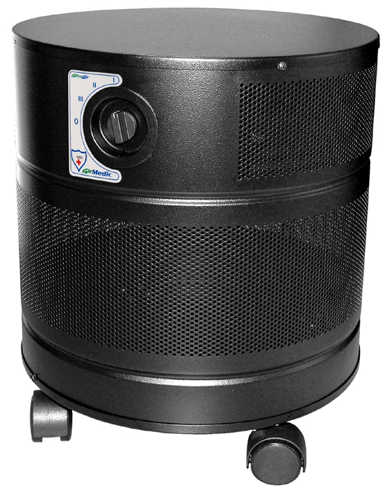 Allerair AirMedic VOG Air Purifier: Black