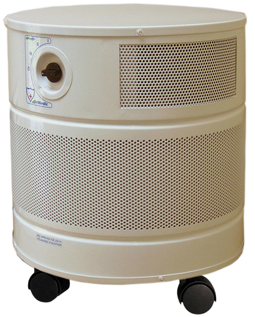 Allerair AirMedic Exec Air Purifier: Sandstone