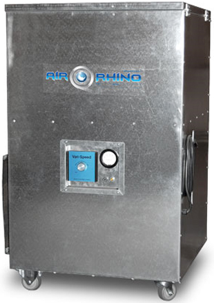 ElectroCorps AirRhino 2000: UPRIGHT 24X24 HEPA