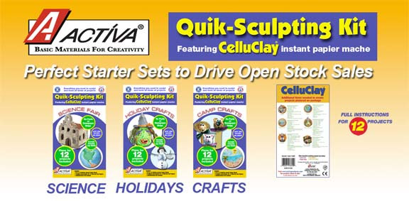 Celluclay Quik Sculpt Value Pack