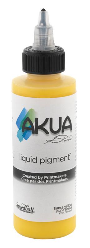 Akua Liquid Pigment™ Printmaking Ink 4oz Hansa Yellow