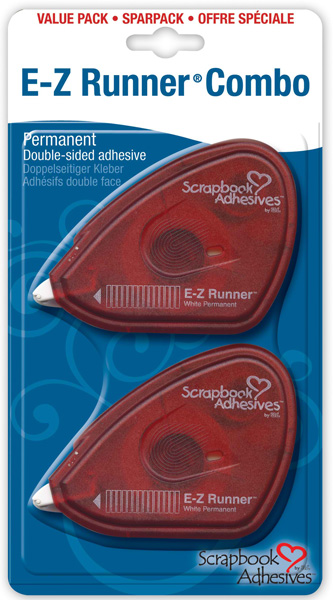 Scrapbook Adhesives E-Z Runners: Combo 2-Packs