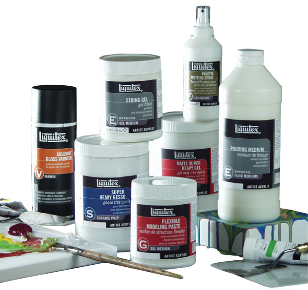 Liquitex Acrylic Mediums Display Assortment C