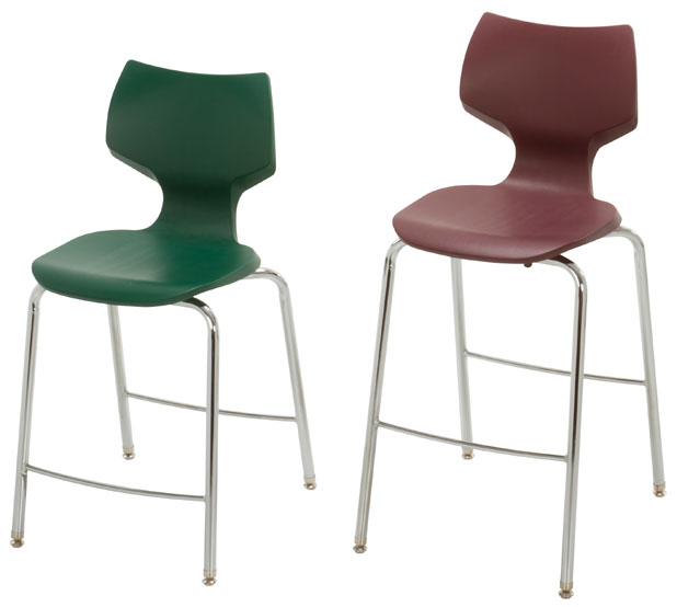"Smith System Flavors Fixed Fixed Height Stool: 24""h"
