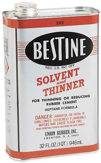 Bestine Solvent Thinner: 32 oz.