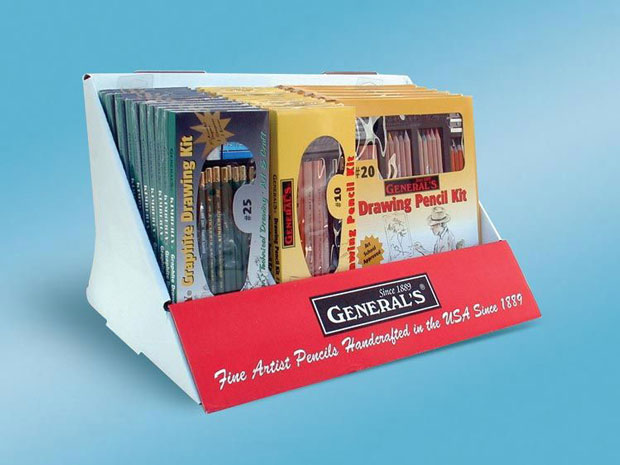 General's Fine Artist Pencil Kits Display: 30 Assorted Kit