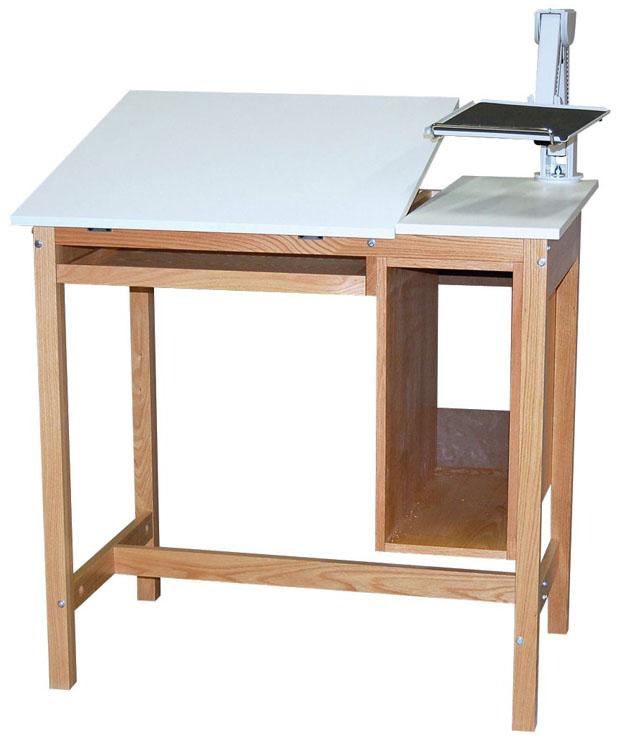 SMI Oak Computer Table: 30 x 42