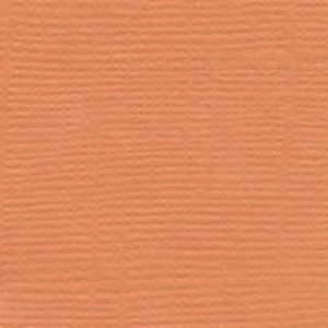 Bazzill Monochromatic Textured Cardstock: Apricot, 12 x 12, Pack of 25