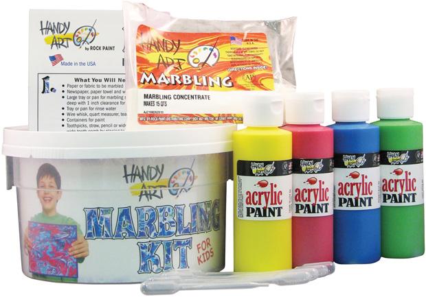 Handy Art Marbling Kit for Kids