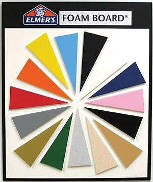 """Elmer's Foam Board Antique White: 3/16"""" Thick, 40"""" x 60"""", 25/Box"""