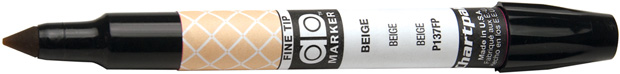 Chartpak Ad Art Marker: Fine Point, Beige