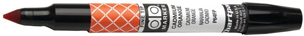 Chartpak AD Marker: Cadmium Orange, Fine Point