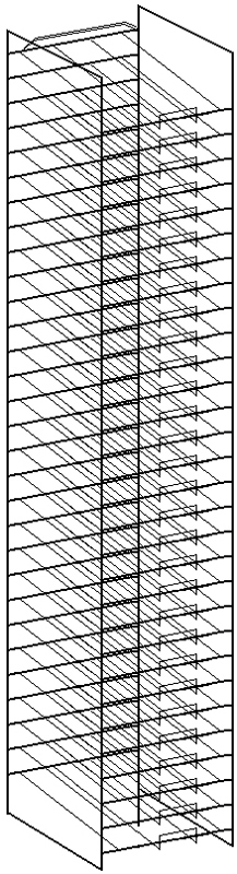 """Art Wire Works Paper Display: Rack for 12"""" x 12"""""""