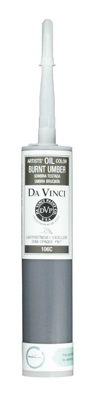 Da vinci artists 39 oil color paint price series 1 burnt for Oil paint price
