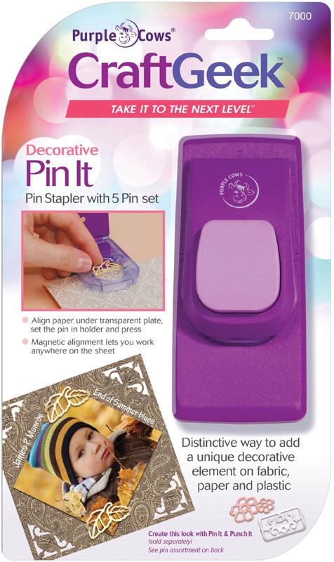 CraftGeek Pin It Magnetic Decorative Stapler
