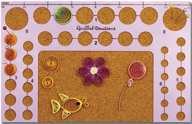 Quilled Creations Quilling Tool: Circle Board Template