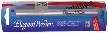 Speedball Elegant Writer Calligraphy Marker: Broad, Silver, Individual Marker
