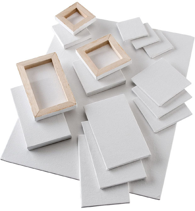 Heritage Stretched Canvas: Mini 2 X 2 Inches, Box Of 10