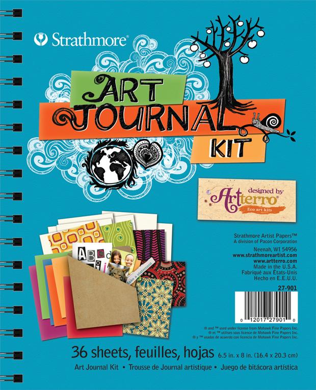 Strathmore Art Journal Kit: Turquoise
