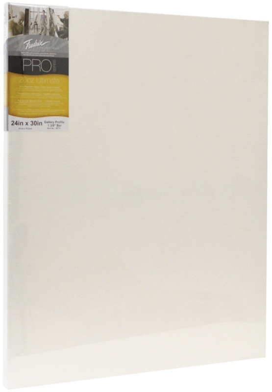 "Fredrix Pro Series Ultimate Stretched Canvas: Gallerywrap Bar, 11"" x 14"""