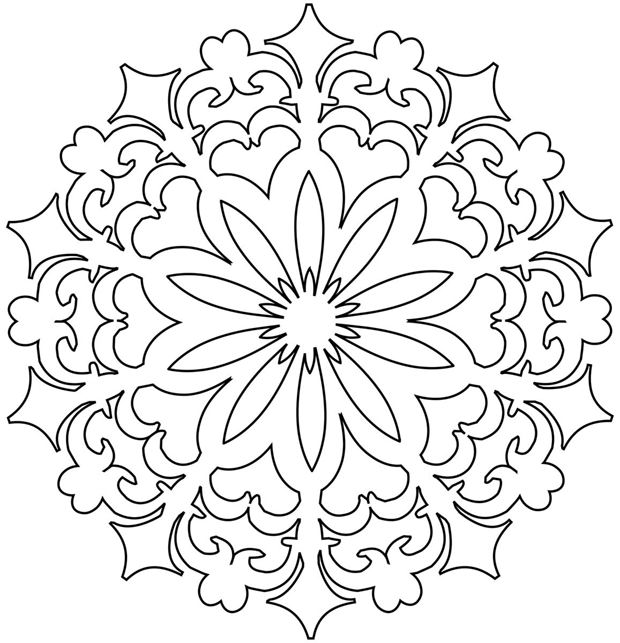 Batik Design Colouring Pages page 2
