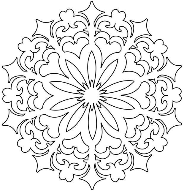 free rangoli pattern coloring pages