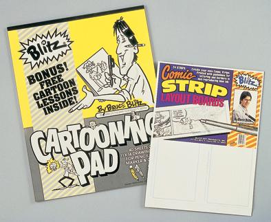 Bruce Blitz Cartooning Pad