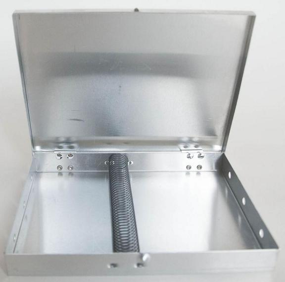 "Mack Metal Brush Box 5"" x 14"" with Spring (CLON)"