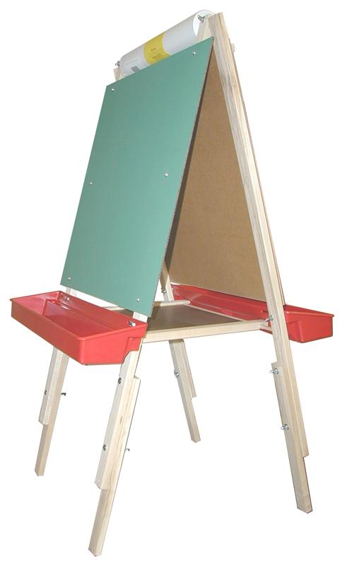 Beka Ultimate Easel: Chalkboard & Markerboard