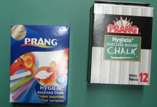 Beka Prang Chalk: Dustless, 6 Color Sticks