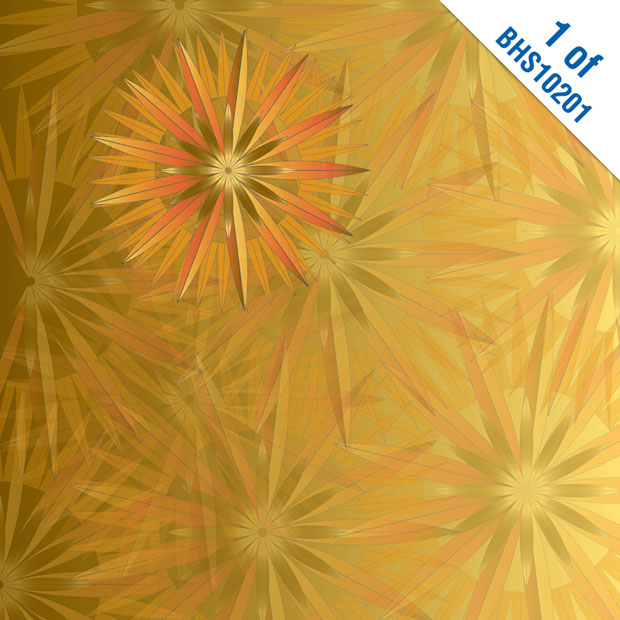 "Blue Hills Studio ColorStories Paper Pack: Yellow, 12"" x 12"""