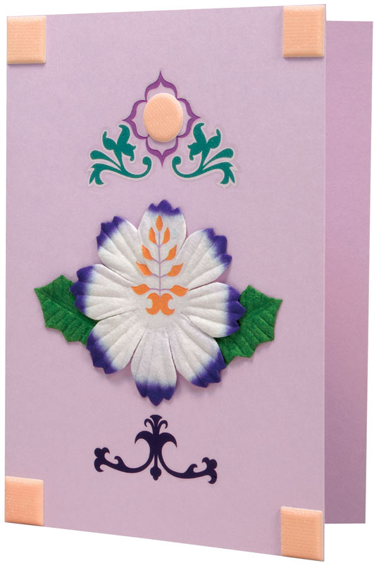 Blue Hills Studio ColorStories Embossed Cardstock Stickers: Purple