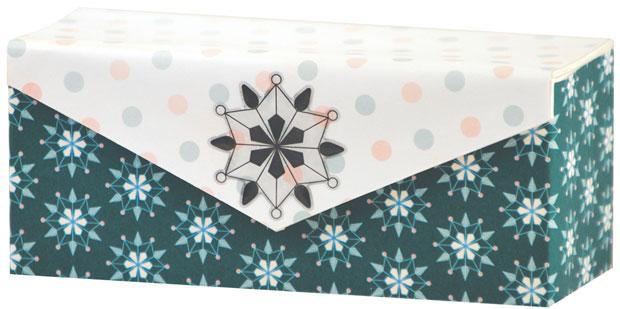 Blue Hills Studio ColorStories Epoxy Snowflower Stickers: White