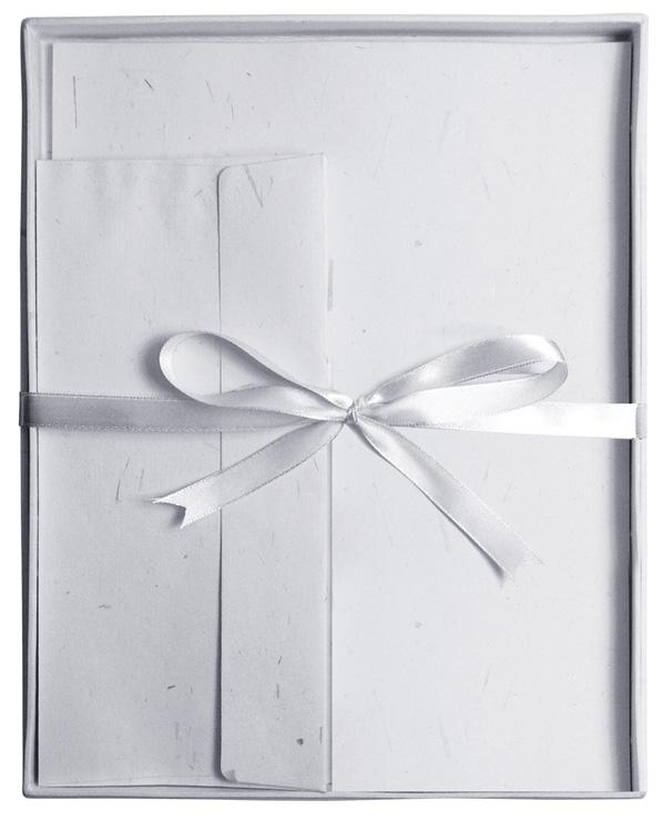 Blue Hills Studio™ Fine Writing Stationery 20-Sheet Set Gray